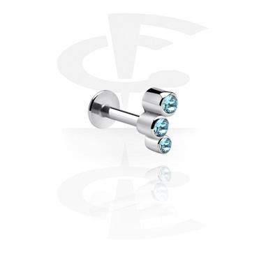 Micro Labret com Steel Cast Attachment