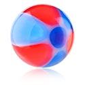 "Boules et Accessoires, Boule ""beach ball"", Acryl"