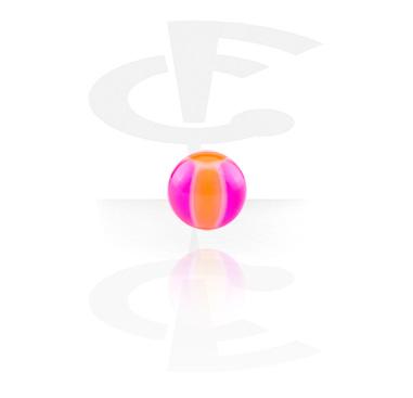 Bola con estampado de pelota de playa