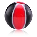 Balls & Replacement Ends, Threaded Ball –Beach Ball, Acryl