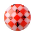 Pallot ja koristeet, Micro Psychedelic Ball, Acryl