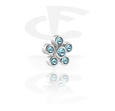 Boules et Accessoires, Accessoire pour les barres de 1.2 mm, Acier chirurgical 316L