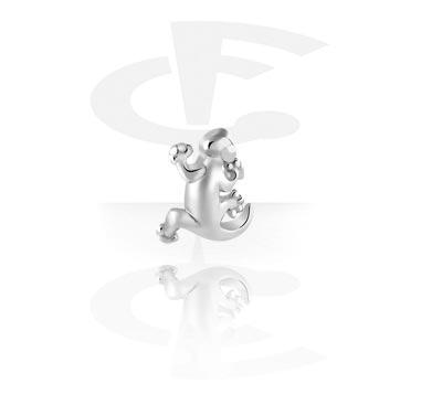 Boules et Accessoires, Accessoire avec filetage de 1.2 mm, Acier chirurgical 316L