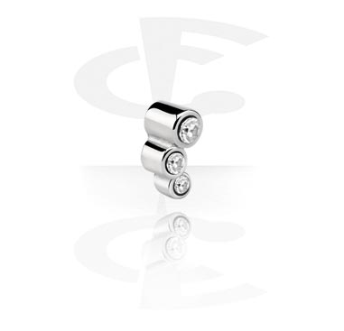 Balls & Replacement Ends, Threaded Accessory, Surgical Steel 316L