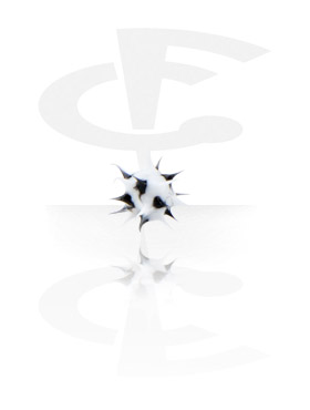 Kuglice i zamjenski nastavci, Silicone Spikey Micro Ball, Surgical Steel 316L