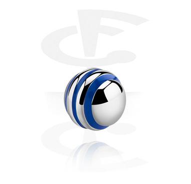 Bola con rayas