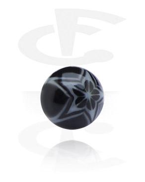 Threaded Ball – Flower