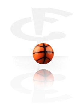 Kulki i inne zakończenia, Piłka do koszykówki z gwintem 1,2 mm, Acryl