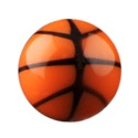 Balls & Replacement Ends, Basketball ball, Acryl