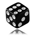 Balls & Replacement Ends, Dice, Acryl