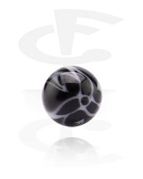 Boules et Accessoires, Micro Flower Ball, Acryl