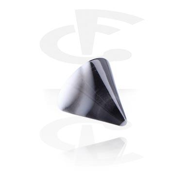 Pallot ja koristeet, Micro Marble Cone, Acryl