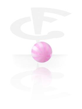 Kulki i inne zakończenia, Micro Multistriped Ball, Acryl