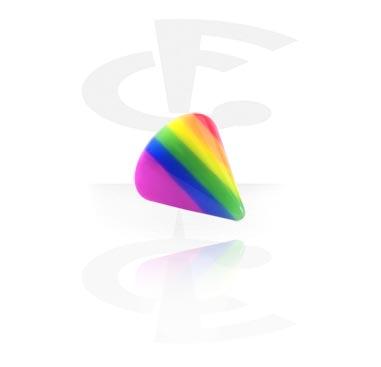 Einzelteile & Zubehör, Micro Regenbogen Cone, Acryl