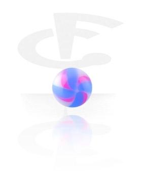 """Boules et Accessoires, Boule """"Twister-Flower"""", Acryl"""