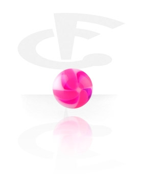 """Twister Flower""-Kugel"