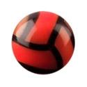 Kuličky a náhradní koncovky, Volejbalový míček, Acryl