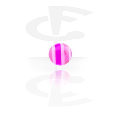 Cukrkandlová kulička s vlnkami