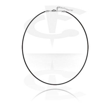 Ogrlice, Uska ogrlica s proširenim lancem, Imitation Leather