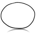 Halsband, Chokerhalsband, Konstläder, Överdragen mässing