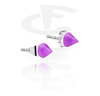 Neon Ear Studs