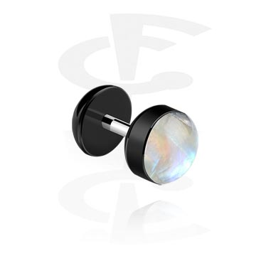Mother of Pearl Fake Plug