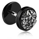 Imitacja biżuterii do piercingu, Fake Plug, Acrylic
