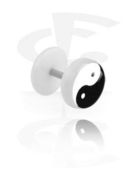 New White Picture Fake Plug