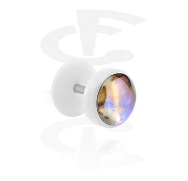 Falešný plug s perlou