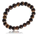 Armbanden, Natural Stone Bracelet, Steen, Elastiek