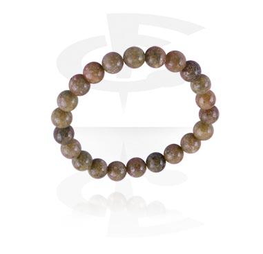 67556ecb6542 Pulsera de piedra natural Piedra/Goma elástica