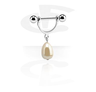 Nipple Stirrup with Pearl
