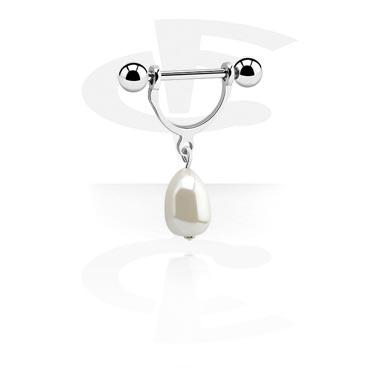 Nipple Stirrup mit Perle