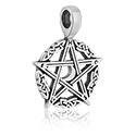 "Anhänger, Kettenanhänger ""Pentagramm"", Hartzinn"