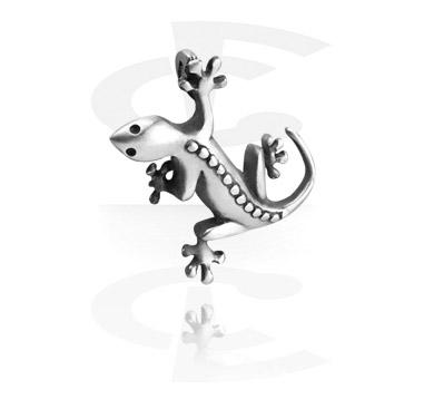 "Pendants, Pendant ""Salamander"", Pewter"