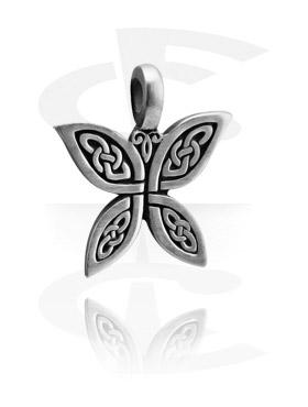 Pendants, Pendant with Celtic Design, Pewter