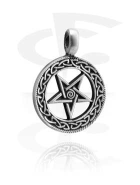 "Pendants, Pendant ""Pentagram"", Pewter"