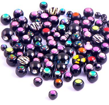 Super Sale Bundles, Super Sale Bundle Black Attachments for 1.6mm Pins, Surgical Steel 316L