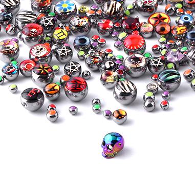 Super Sale Bundles, Super Sale Bundle Aufsätze für Ball Closure Ringe, Chirurgenstahl 316L