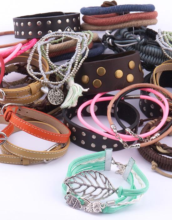 Super Sale Bundles, Super Sale Bundle Armband, Läder