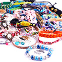 Super Sale Bundles, Super Sale Bundle Bracelets, Plated Brass ,  Cotton ,  Leather ,  Imitation Leather