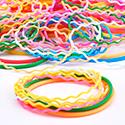 Super Lots Avantageux, Lots avantageux de bracelets, Silicone