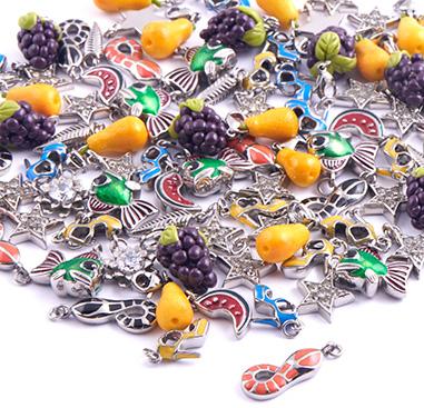 Super Sale Bundles, Super Sale Bundle Charms for Bracelet, Plated Brass