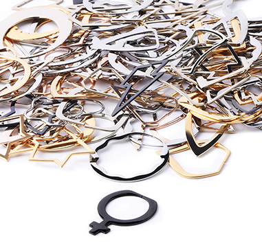 Super Sale Bundles, Super Sale Bundle Creoles for Tunnels, Rosegold Plated Surgical Steel 316L, Gold Plated Surgical Steel 316L
