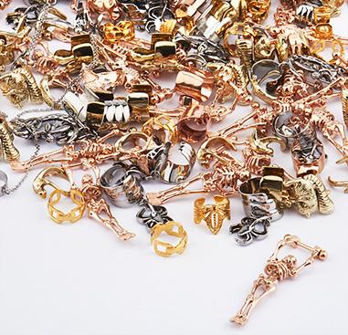 Super Sale Packs, Super sale pack ear cuff, Acciaio chirurgico 316L con placcatura in oro, Rosegold Plated Surgical Steel 316L