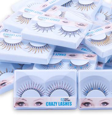Wholesale Pack with Fake Eyelashes