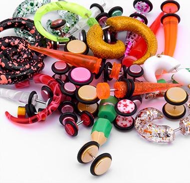 Super Sale Bundle Fake Piercings and Expander