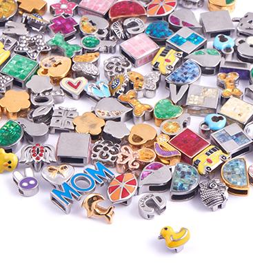 Super Sale Bundles, Super Sale Bundle Flatbeads for Flatbead Bracelets, Rosegold Plated Surgical Steel 316L ,  Gold Plated Surgical Steel 316L
