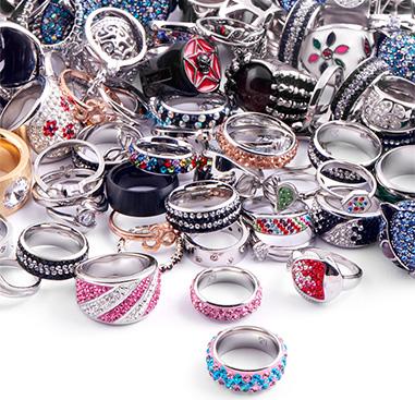 Super Sale Bundles, Super Sale Bundle Rings, Gold Plated Surgical Steel 316L ,  Rosegold Plated Surgical Steel 316L