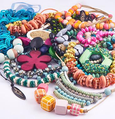 Super Sale Bundles, Super Sale Bundle Necklaces, Nylon Cord, Wood